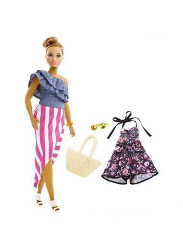 Barbie Barbie Fashionista Bebek ve Kıyafetleri FJF67 Renkli